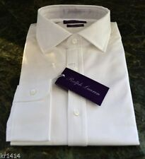 Ralph Lauren Button Cuff Tuxedo, Dress Formal Shirts for Men