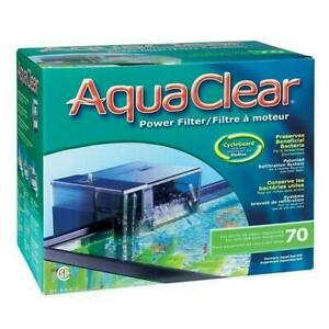 Hagen Aquaclear Hang On Power Filter 70 (40 - 70 Gal) - Fluval