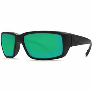 Costa Del Mar Fantail Sunglasses, Blackout, Green Mirror, 580P - TF01OGMP