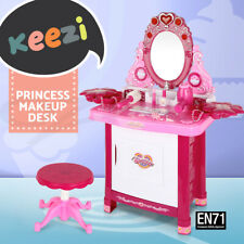 Keezi Kids Makeup Set Girls Toys Pretend Play Childrens Make Up Sets Dressing