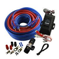 Audiopipe Pk-1540Hps Complete 8 Gauge Amp Kit Line Out Converter