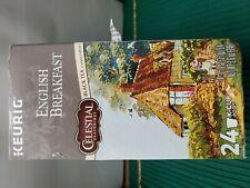 Celestial Seasonings English Breakfast Black Tea, 24 K-Cup.Exp.12/21