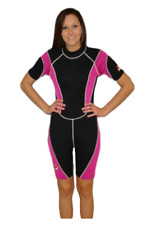Women's Shorty Wetsuit 3MM Small Model 8814 - Good Size for Teens or Tweens