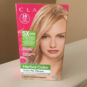 Clairol Herbal Essences Hair Color 16 Knockout Blonde Color Me Vibrant New 1 box
