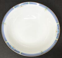 "Royal Doulton ""Blue Trend"" 6 1/4"" Coupe Cereal Bowl, England ~ EUC (5 Available)"
