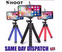 3x Universal Mini Mobile Phone Holder Tripod Stand Grip iPhone Camera Samsung