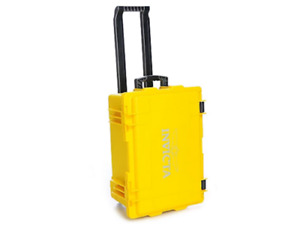 Invicta  50 Slot Case Waterproof Shockproof Limited Edition YELLOW Case Cart