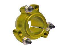 "Gold 1"" Go Kart Drift Trike Live Axle Aluminum Rear Wheel Hubs w/ Hardware"