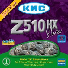 Kmc Z510hx Cadena de plata para BMX y Individual Velocidad Bicicletas