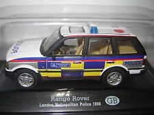 RANGE ROVER LONDON METROPOLITAN POLICE UK 1998  au 1/43°