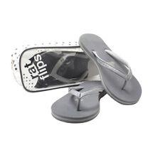 YogaRat RatFlips Women's Flip Flops - Large (Size 10-10.5) - Charcoal/Ash