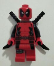 LEGO Marvel Deadpool minifigure BN swords from 6866 Wolverines showdown mini fig