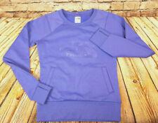 The North Face Fleece Pullover Sweater Purple Plum Women Sz. XS XSmall Polyester