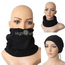 en vente ! 3 1 réglable hiver polaire cache-col Noir écharpe bonnet, cadeau noël