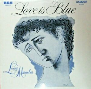 "Love Is Blue (Living Marimbas) - 12"" Vinyl LP Record. Authentic & Original"