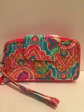 VERA BRADLEY  Smartphone  Wristlet for iphone 6  Paisley in Paradise-NWT