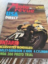 MOTO REVUE 2238 1975 Salon Paris Harley X1000 Yamaha 500 XT TT Lobito 125 T ...