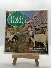 3 View Master Reels - Heidi - B425 -D - 🎞️