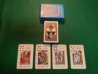 VERY RARE! Vintage Tarot La Nuova Cartomanzia FORTUNE TELLING Playing Cards
