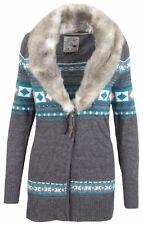 LA GAUCHITA by L' ARGENTINA Damen Strickjacke Cardigan Größe M 38 Merino Wolle