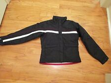 Columbia women's size S Black & White insulated fleece lined winter jacket