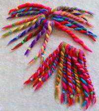 commerce équitable feutre laine coloré 16 Nœud élastique cheveux chouchou