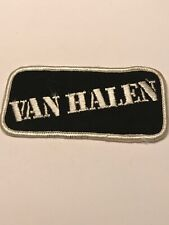Vintage Van Halen Logo 4� Patch Iron On Sew On Rock And Roll Band