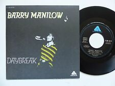 BARRY MANILOW Daybreak 2C006 60146 Pressage France rrr