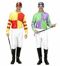 Gli adulti COMPLETO Jockey Costume-Rosso Bianco /& Blu British UK speciale *