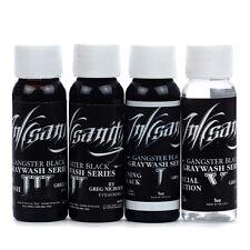 Inksanity Gangster Black Graywash Tattoo Ink Evilkolor Set Greg Nicholson 4x 1oz