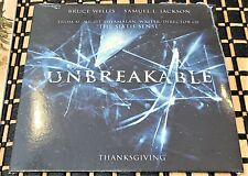 New Unbreakable Promo Movie Trailer/Press Kit Cd Bruce Willis M. Night Shyamalan