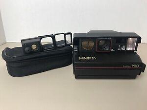 Minolta Instant Pro Film Camera Vintage. Macro lens. Excellent condition.