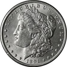 1891-S Morgan Silver Dollar BU
