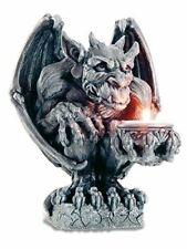 More details for gargoyle candle holder gothic decor ornament statue sculpture