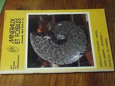 8µ? Revue Minéraux & Fossiles Guide Collectionneur n°41 Herault Nodule à poisson