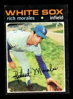 "1971 Topps #267 Rich Morales Chicago White Sox Card  ""mrp-collectibles"" VG/EX"