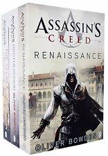 Assassins Creed Collection Oliver Bowden 3 Books Set Renaissance, Brotherhood