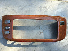 1998-2007 LEXUS LX470 RADIO NAV A/C WOOD GRAIN CENTER DASH BEZEL 55412-60280