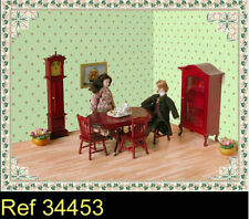 Arredamento per sala da pranzo per case di bambole e miniature
