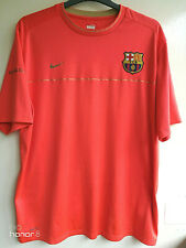BARCELONA FOOTBALL CLUB SPAIN ESPANA NIKE FIT DRY T- SHIRT TOP JERSEY SIZE XXL
