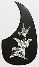Acoustic guitar pickguard Rosewood Rightside abalone inlaid pattern-PGMTR28