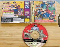 Marvel Super Heroes vs. Street Fighter Sega Saturn from japan Free Shipping