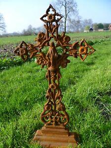 Grabkreuz, Kreuz, Eisenkreuz, Straßenkreuz, Wegkreuz, Kruzifix, Grab, Urnengrab