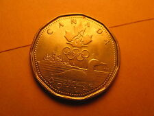 CANADA 2004 OLYMPIC GAMES COMMEMORATIVE $1 COIN  LUCKY LOONIE