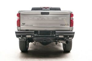 Fab Fours CH20-T4950-1 Black Steel Ranch Rear Bumper