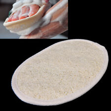 Exfoliating Loofah Pad Natural Cleaning Sponge Scrubber Bath Spa Shower BrYXFR