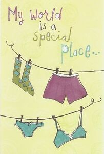 """Greeting Card - Friendship - """"WORLD IS A SPECIAL PLACE"""" by American Greetings!"""
