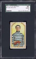 1911-12 C55 Imperial Tobacco #4 Joe Malone RC HOF SGC 30 Good