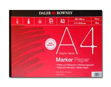 Daler Rowney Bleedproof Marker Pad - A2