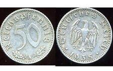 ALLEMAGNE  WW2  50  reichspfennig  1935 A   ( bis )